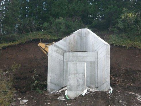 colonna cemento armato impianti