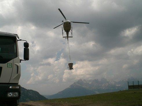 trasporto materiale per impianti