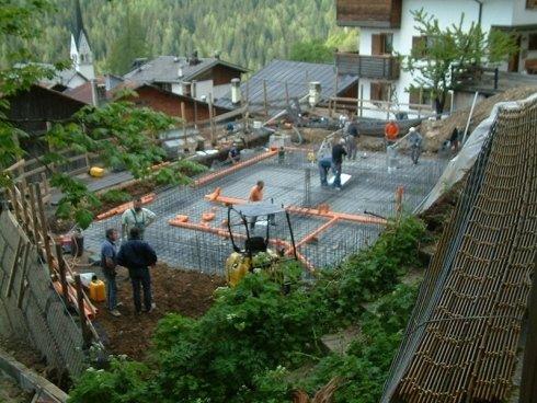 lavori edili fondamenta