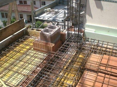 costruzione solaio