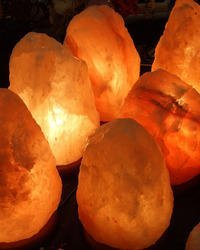 Salt Lamp Negative Ion Test : Just what are negative ions?