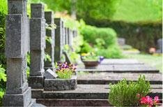 Manutenzione giardini cimiteriali