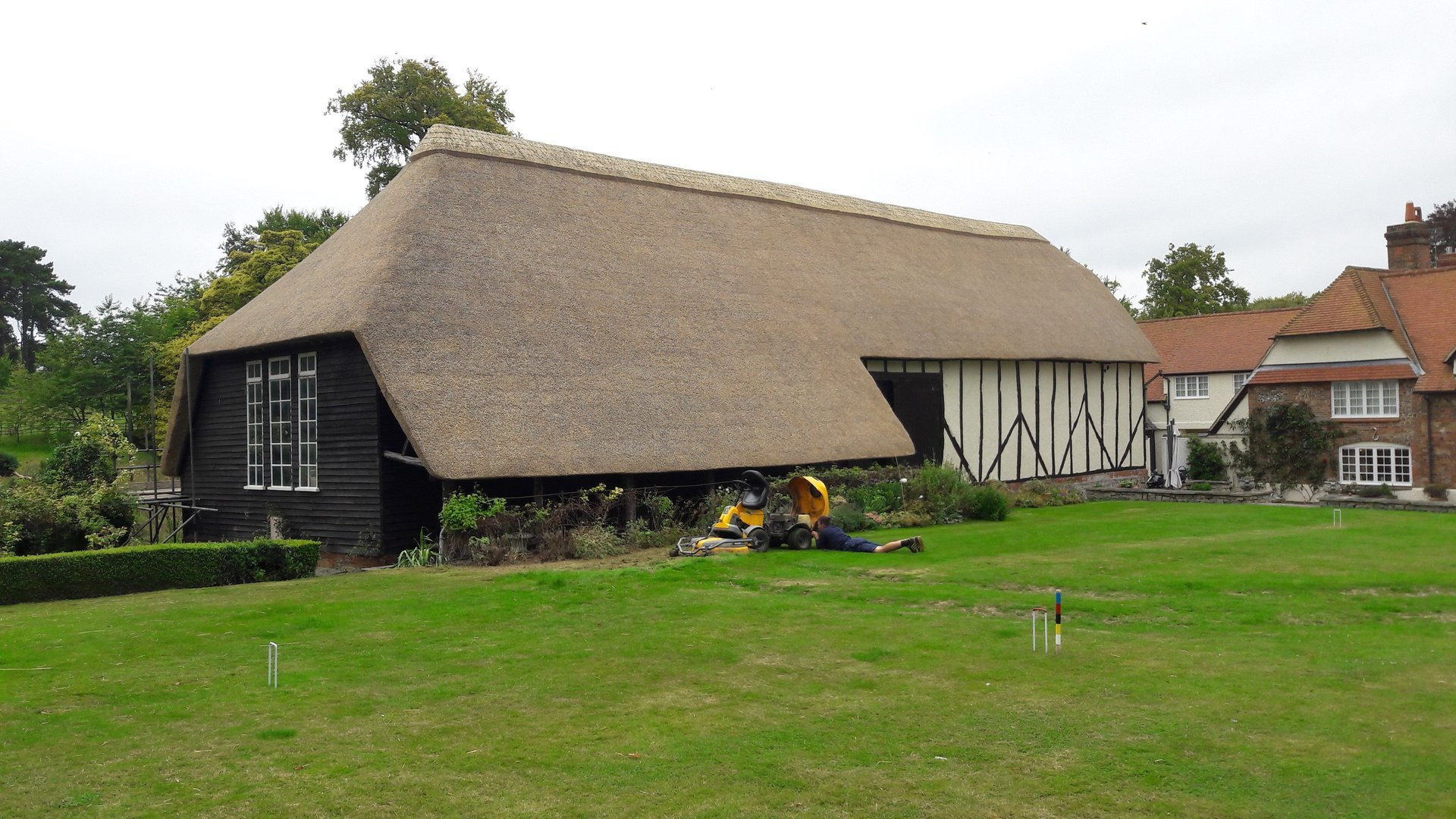 Explore Our Thatching Work Call Andrew Bowman Today