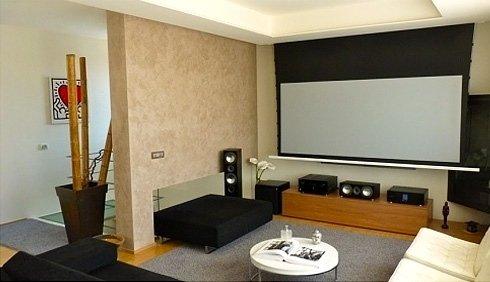 schermo home cinema
