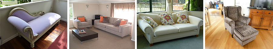 Re-upholstery montage in Auckland