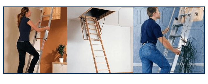 Loft ladder installation service