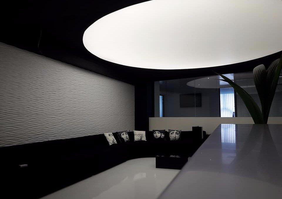 ceiling design lighting clinic