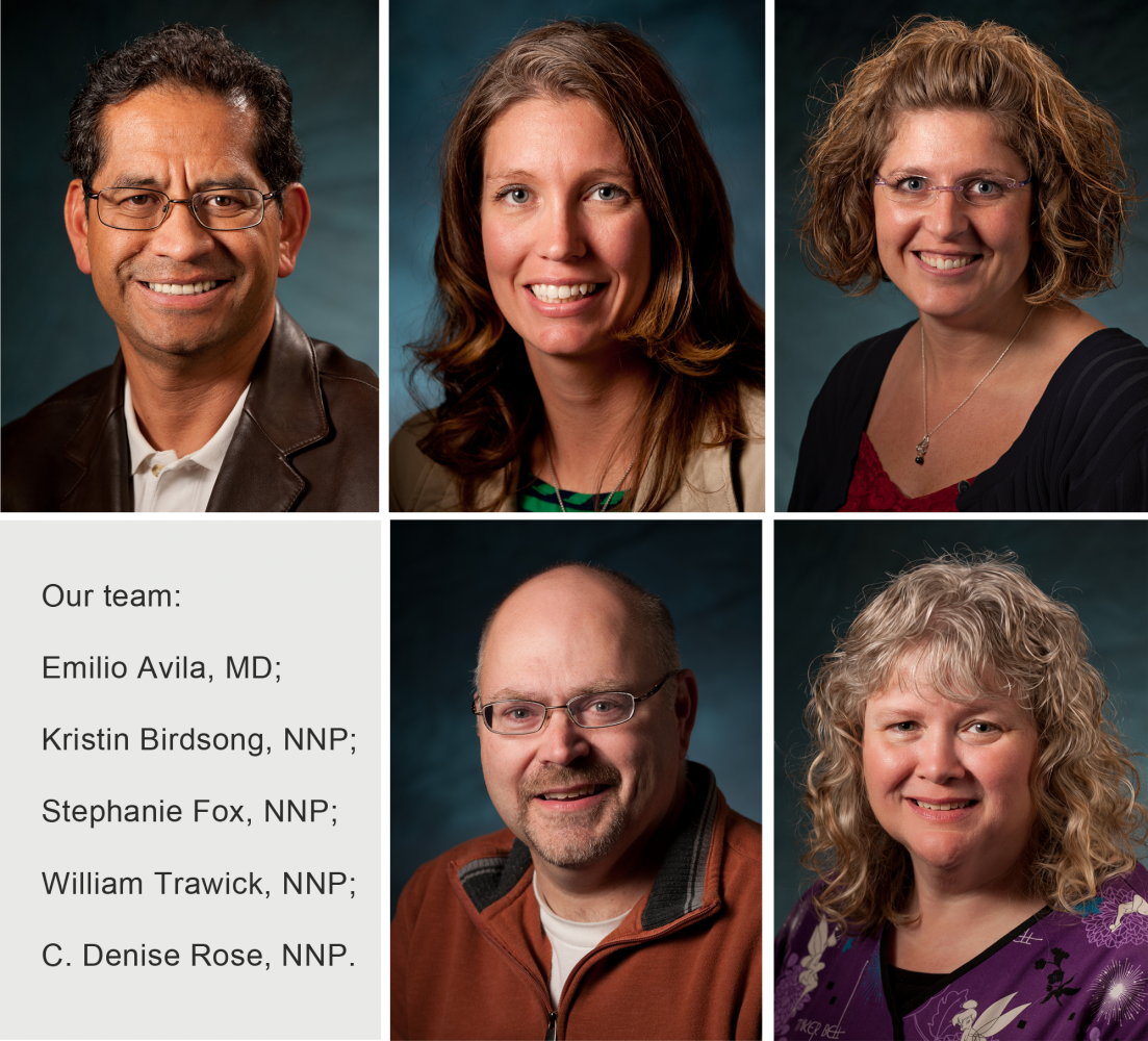 pediatricians at our neonatal practice in Anchorage, AK