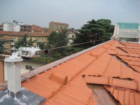 Linee vita tetto