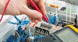 intervento di controllo e verifica dell'impianto elettrico