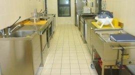 cucina interna asilo, cucina asilo delfino