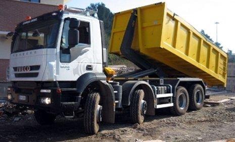 camion per lo smaltimento