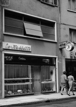 Gioielleria Cortelletti nel 1960