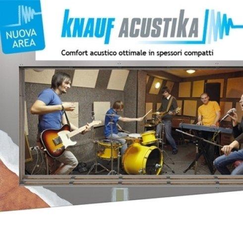 Comfort acustico ottimale in spessori ridotti