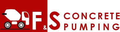f and s concrete pumping logo