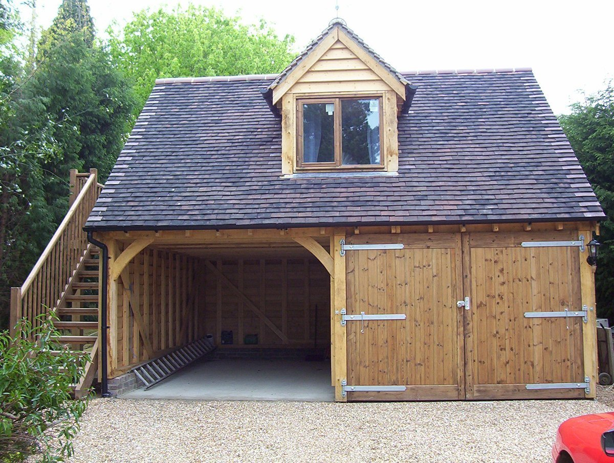 barn and garage combo