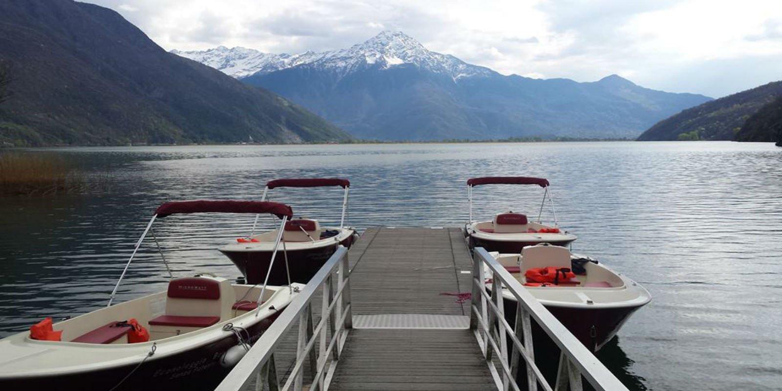 Noleggio barche colico co econoloeggio como lake for Listino prezzi lago