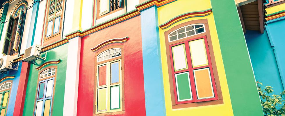 exterior decorating work
