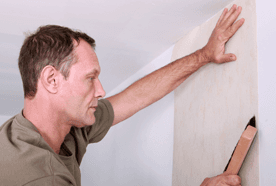 complete wallpapering service