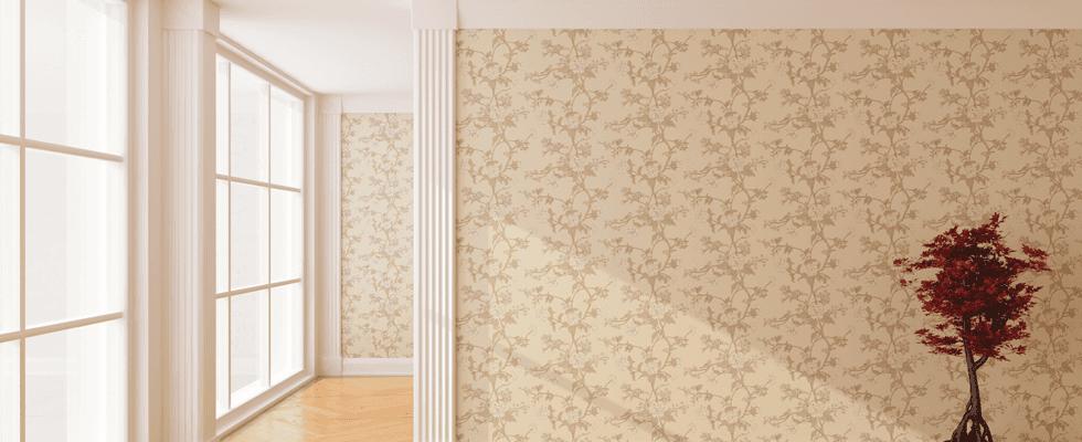 Expert wallpapering service
