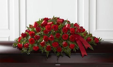 composizioni floreali per funerale