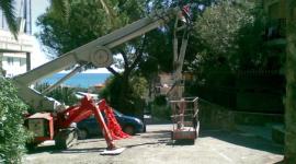 cherry picker, gru mobili, piattaforme fino a 15 metri