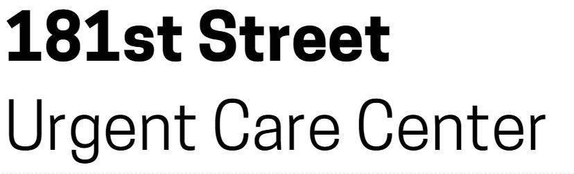 181st Street Urgent Care Center logo