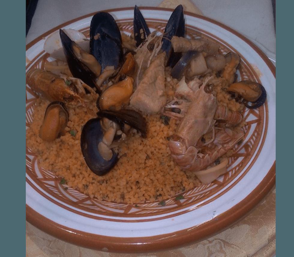 cous cous di pesce
