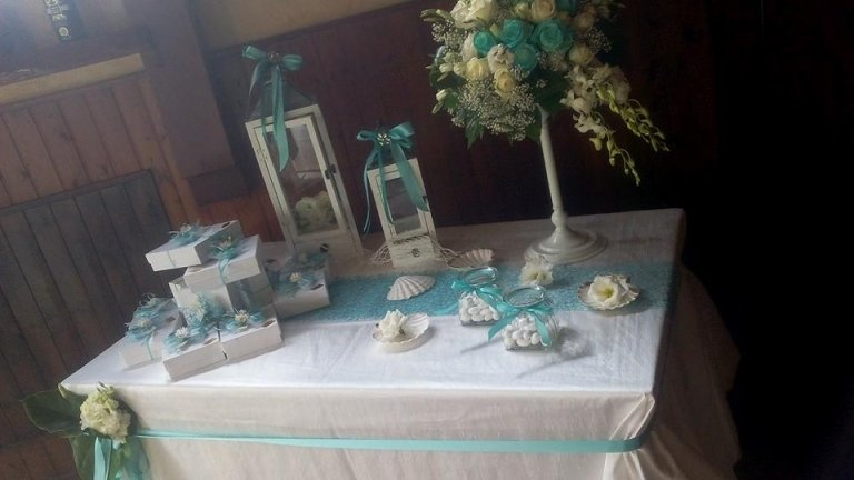 tavolo regali