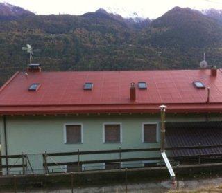 tetto colorato, impermesabilizzazioni, tetti edifici