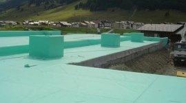 copertura in PVC, coibentazioni, tetti zavorrati