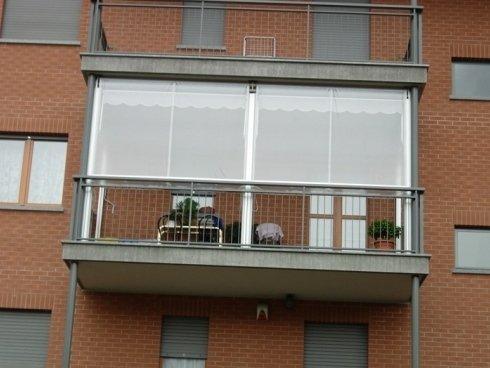installazione tende a veranda motorizzate