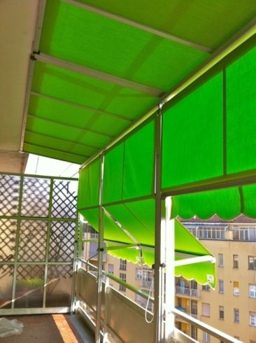 tende da esterno verde