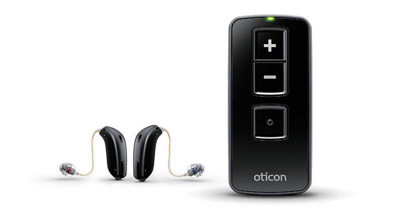 Remote hearing aids
