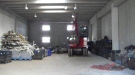 stoccaggio materiale ferroso