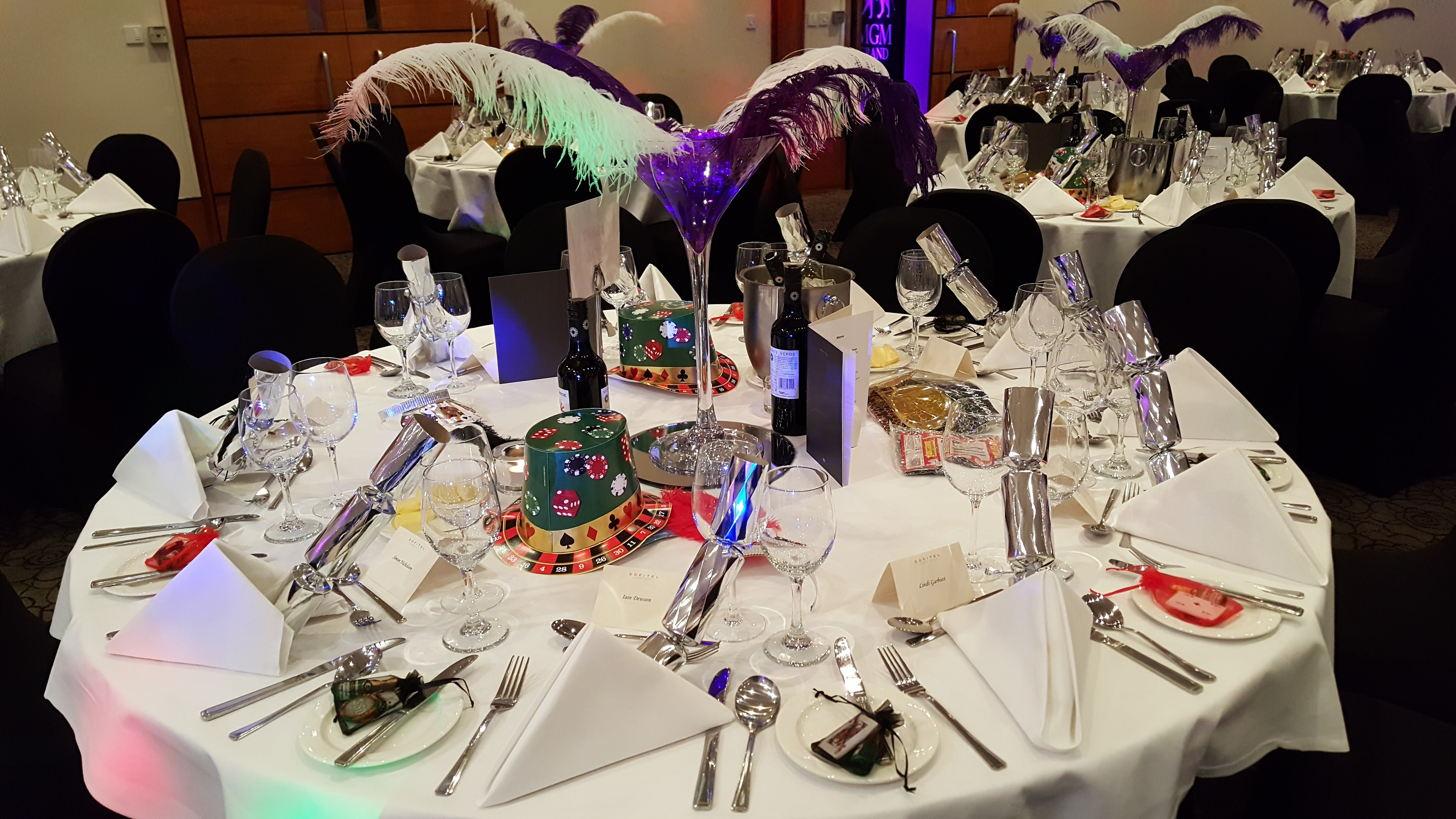 Themed Event Tables