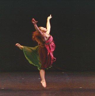 performing greek dance