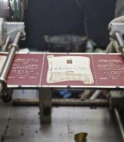 Servizi di stampa tipografica