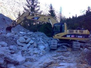 escavazioni, trasporto materiale demolizione