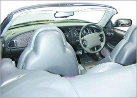 Jaguar courtesy cars - Great Linford, Milton Keynes - E & E Services MK Ltd - Car Interior