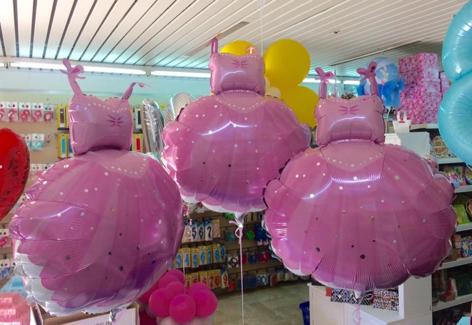 palloncini di compleanno rosa