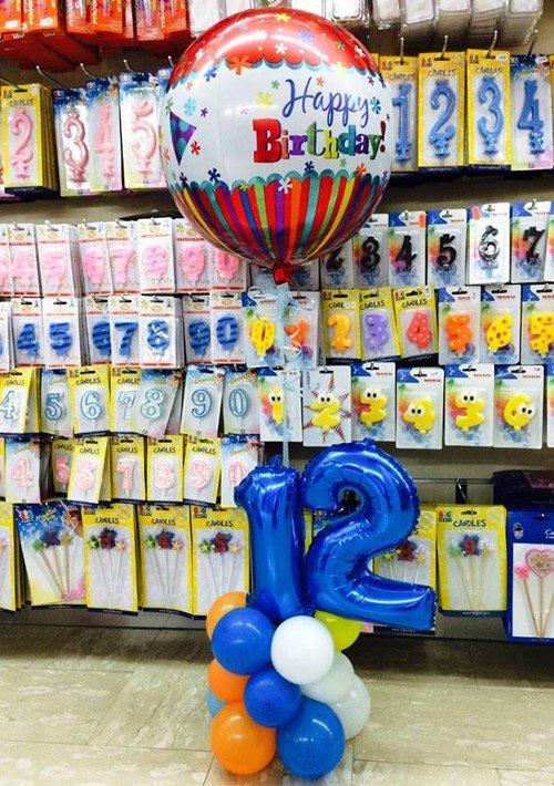Articoli per feste in negozio