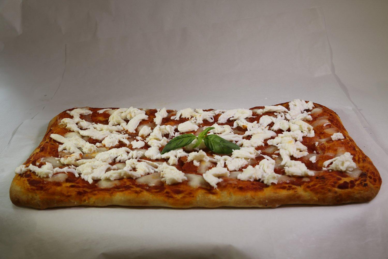 Una pizza al metro