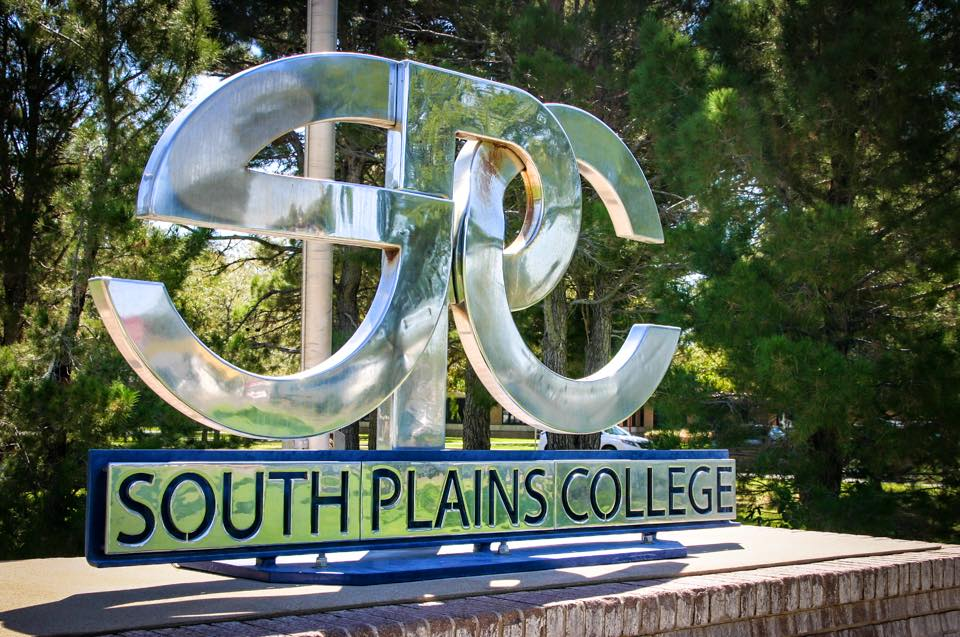 Sign for South Plains College