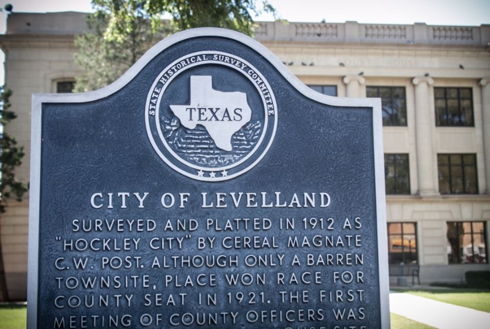 City of Levelland sign