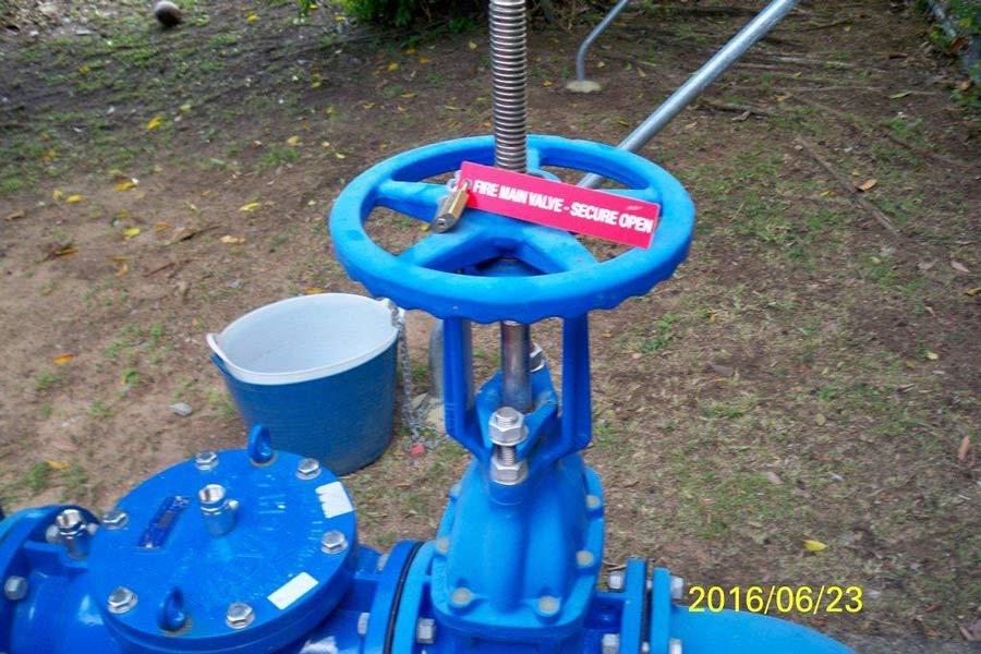 blue fire valve