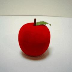 contenitore mela, gioielli, scatola gioielli