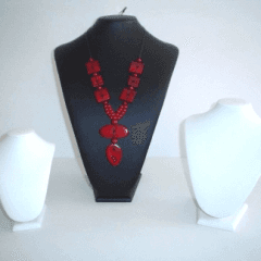 espositori di varie altezze, vendita espositori, produzione espositori per collane