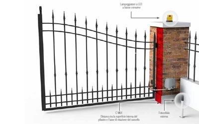 cancello came fast biella