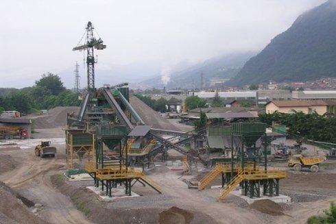 Produciamo il calcestruzzo per il settore edile.
